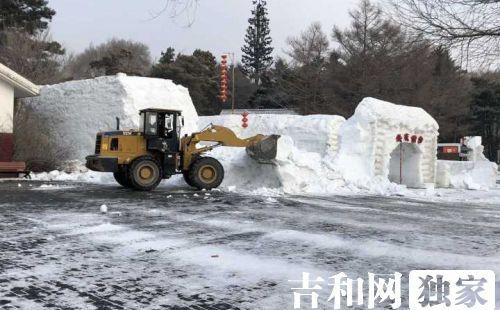 南湖公园雪雕20日开拆 冰上娱乐项目也将撤出