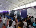 太空飞船返回舱首次亮相我市 中国航天科普展长春站于欧亚卖场启幕