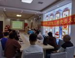 长春市第二医院二部党员志愿者团队健康进社区 义诊暖人心