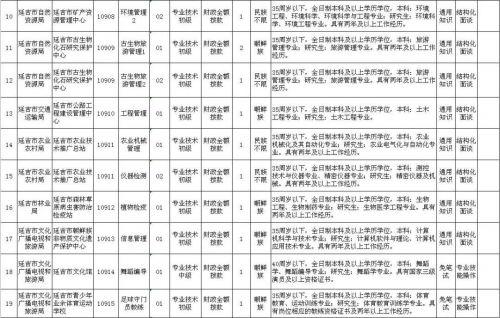 好机会!2019年延吉市这些事业单位公开招聘啦,共招30人!