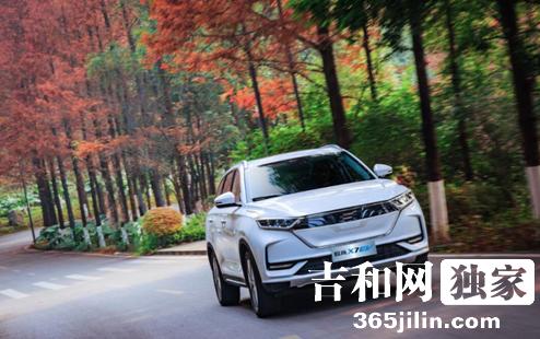 长安欧尚X7 EV亮相发布 长安欧尚汽车新能源进程加速