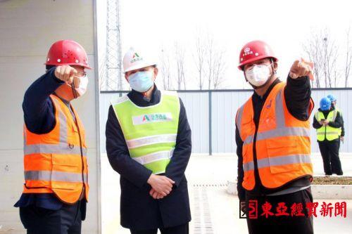 中铁四局路桥公司京台项目积极做好复工复产工作01