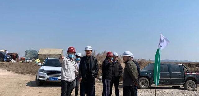长春环线项目组织开展专项检查,确保4月10日实现全面复工复产