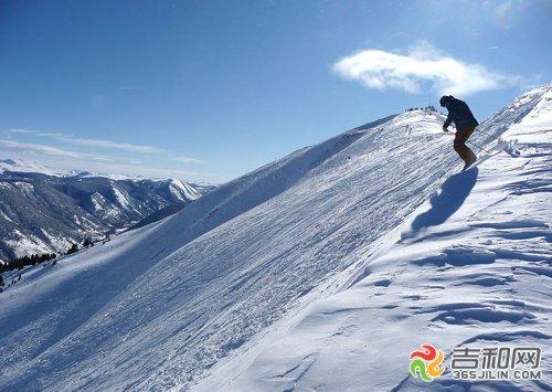 冬季来吉林滑雪