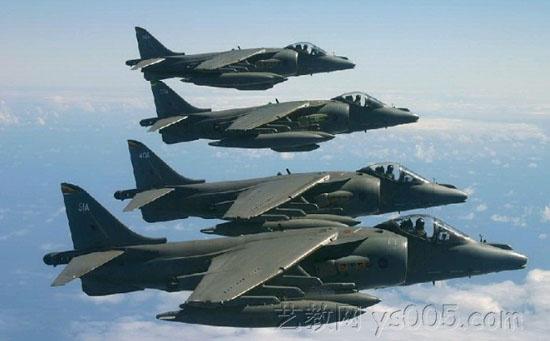 英国海鹞式舰载战斗机