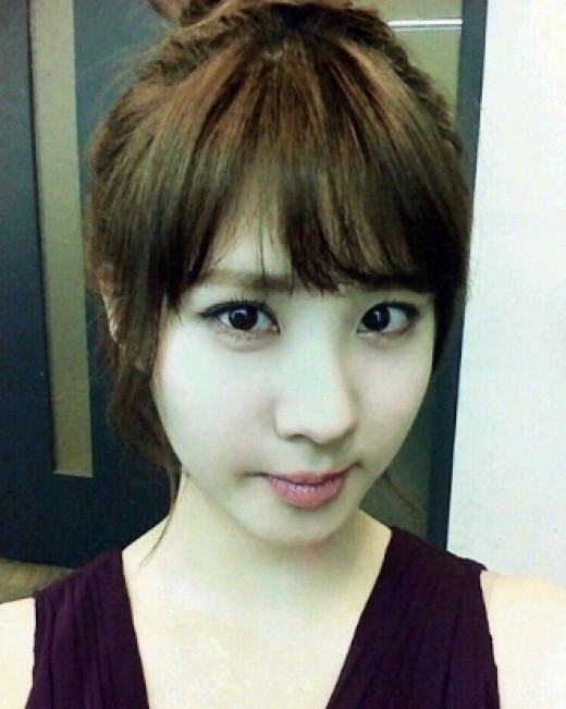 """"""",""""徐贤的刘海很可爱啊~"""",""""徐贤的发型,这样也很漂亮啊!"""