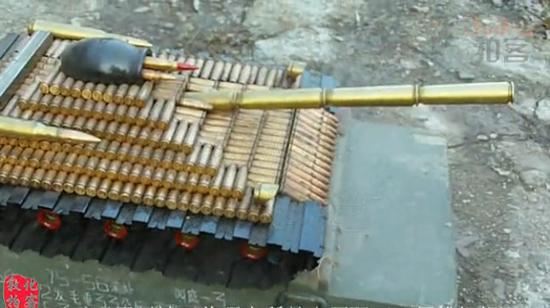 他制作过的军械工艺品种类有850多种