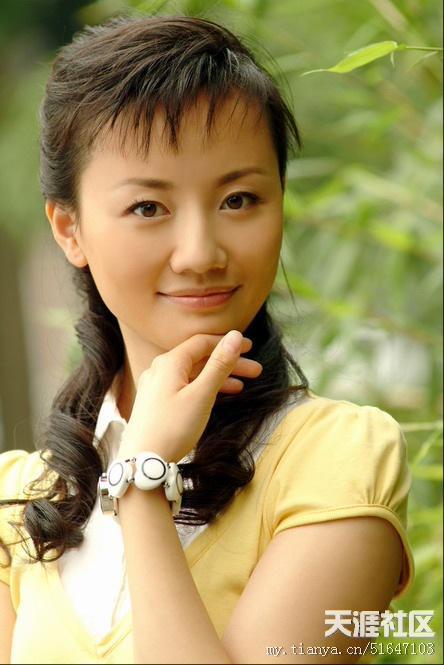 石琼璘-央视美女主播张蕾嫁富豪 央视十大美女主播盘点 8图片