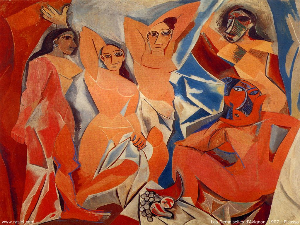 毕加索的名画高清图片