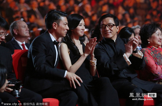 北京电影节闭幕:刘德华成龙围林志玲热聊图片