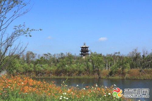 长春北湖国家湿地公园 自然景观秀丽的城市绿肺